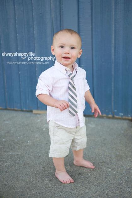 Walking Baby Portrait