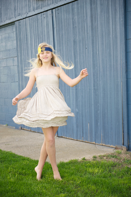 Adorable Kids Dancing Lifestyle Portraits in South Bend Indiana