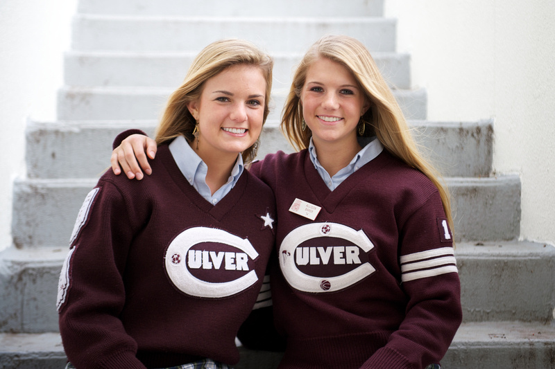 Sisters Siblings Senior Portrait South Bend Girls Photographer