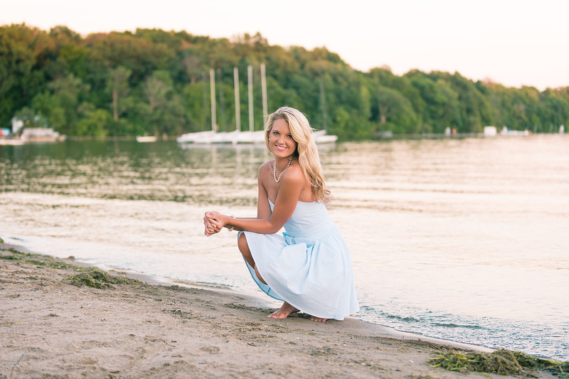 Lake Maxinkuckee & Culver Academies Best Senior Portrait
