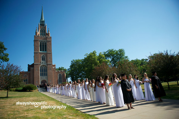 Girls Procession {Culver Girls Academy}