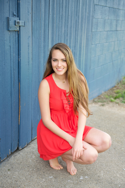 Gorgeous Chic South Bend Indiana Girls Senior Portraits
