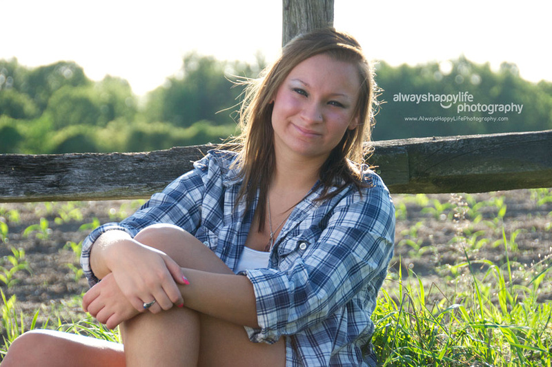 On location Senior Portrait | Central Indiana Lifestyle Photographer Culver, Indiana