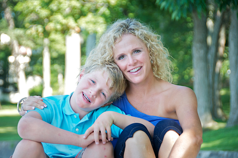 Mom & Son Portraits Central Indiana South Bend