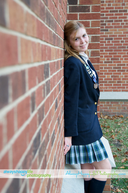 Culver Girls Academy Uniform Formal Portrait